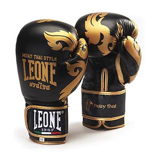 Leone 1947Muay Thai Boxhandschuhe schwarz (12Oz) Test