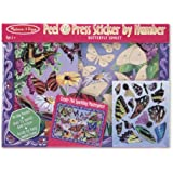 Melissa & Doug Butterfly Peel and Press Sticker by Number