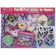 Klebebild Sticker Bild Basteln Schmetterling Prinzessin Dino Weltraum Einhorn