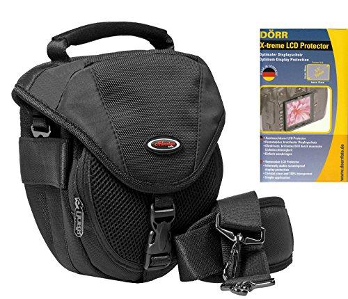 Foto Kamera Tasche Adventure X-Treme im Set mit LCD Schutzfolie 3 Zoll (61x46mm) X 61 Lcd