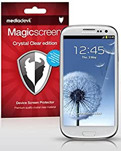 [2-Pack] Samsung Galaxy S3 Screen Protector, MediaDevil Magicscreen Crystal Clear (Invisible) Edition