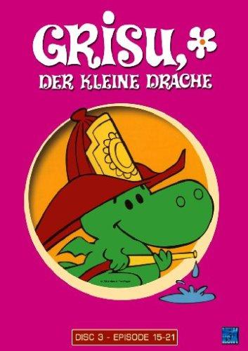 Grisu, der kleine Drache Disc 3 - Folgen 15-21