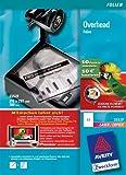 Avery Zweckform  Overhead-Folie für s/w Laserdrucker und s/w Kopierer, stapelverarbeitbar 100 Blatt  Aktion: Fußballpunkte sammeln