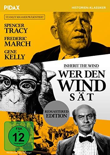 Wer den Wind sät (Inherit the Wind)  / Spannendes Meisterwerk mit Starbesetzung (Pidax Historien-Klassiker) (Nathan Sr)
