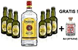 Gin Tonic Set - Finsbury London Dry Gin 70cl (37,5% Vol) + 6x Fentimans Tonic Water 200ml + Siegfried Gin mini 4cl (41% Vol)