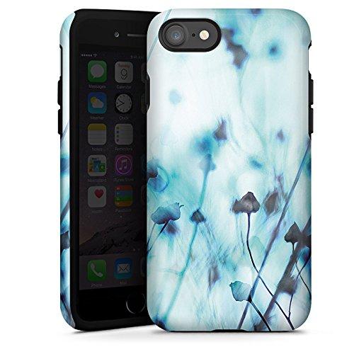 Apple iPhone X Silikon Hülle Case Schutzhülle Natur Wiese Feld Tough Case glänzend