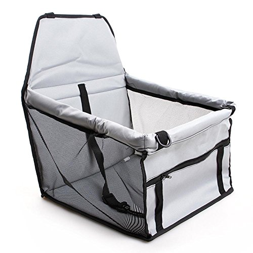 tzbezug,Hund Sitzbezug Pet Booster Carrier Tragetasche Haustier Tasche Faltbare Autos Reisetasche Schutzmatte für Haustiere Hunde Katzen ()