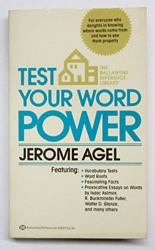 TEST YOUR WORD POWER