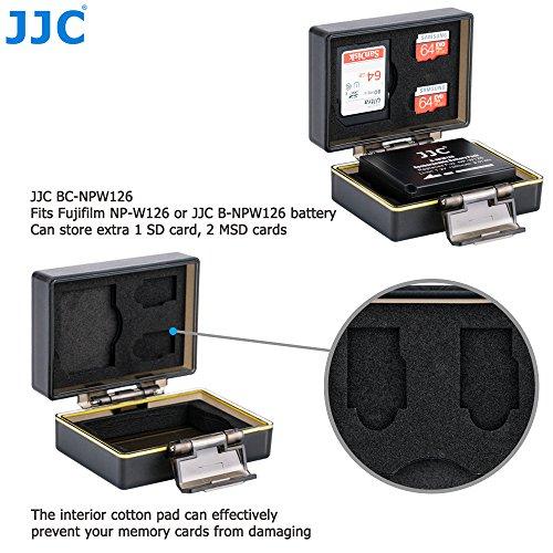 JJC custodia in gomma impermeabile rivestimento rigido per 8 schede SD