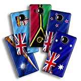 atFolix Designfolie kompatibel mit Microsoft Lumia 950 XL, Skin Aufkleber (Flaggen aus Australien & Ozeanien)