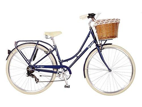 28 Zoll 700C Galano Cityrad Blau oder Lila Damenrad 7 Gang Mädchenrad Hollandrad Cityrad Damenfahrrad, Farbe:blau;Rahmengrösse:16 Zoll