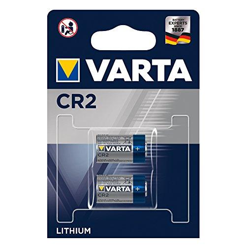 Varta CR2 - Pack de 2 pilas (Litio, 3V, 920 mAh)