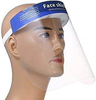 Songdingbin Visi/ère de protection transparente /à rabat pour le visage et la protection contre les /éclaboussures avec bande /élastique pour atelier de cuisine