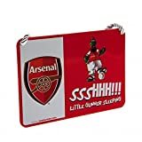 Arsenal FC Official Football Gift Mascot Bedroom Sign - A Great Christmas / Birthday Gift Idea For Men And Boys