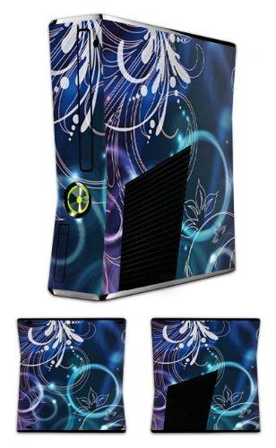 DeinDesign Microsoft Xbox 360 Slim Folie Skin Sticker aus Vinyl-Folie Aufkleber Ornamente Flowers Blumen