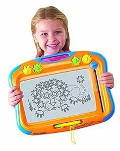 Jouet magnétique traditionnel de planche à dessin des enfants de Tomy Megasketcher