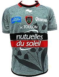 RCT Toulon 2014/15 - Maillot de Rugby Authentique Alterné des Joueurs MC