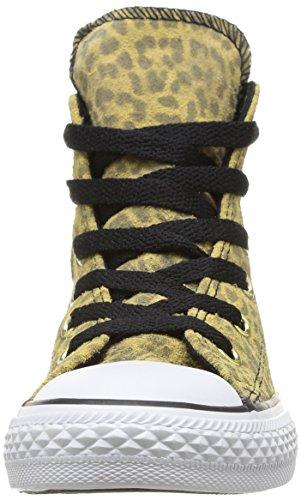 Converse Ctas Animal Hi, Sneakers Hautes Mixte Enfant Multicolore (Leopard)