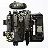 Campeggio OFKPO Kit Professionale di Sopravvivenza di Emergenza per Esterna First Aid Kit per Gli Sport Allaria Aperta Alpinismo