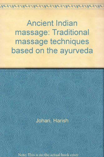 Ancient Indian Massage