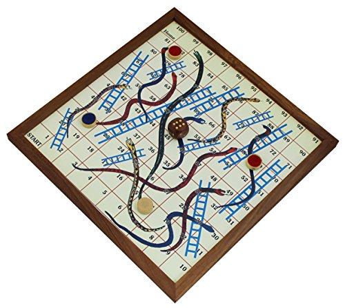 serpientes-y-escaleras-juegos-de-mesa-tablero-magnetico-y-piezas-con-las-instrucciones-de-juego-jueg