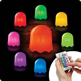 PAC Man LED Lampe 16 Farben mit Fernbedienung