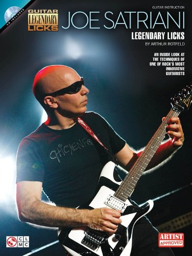 Joe satriani - legendary licks guitare+CD