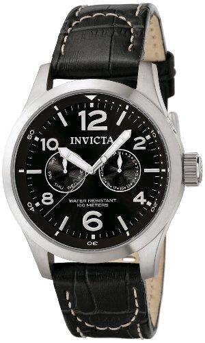 Invicta Reloj Cronógrafo de Cuarzo para Hombre con Correa de Cuero – 764