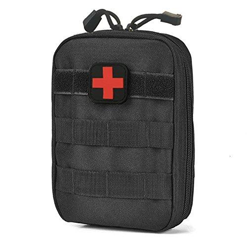 carlrbben Tactical MOLLE rip-Away EMT Medical Erste Hilfe ifak Utility Pouch (nur Tasche), schwarz