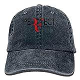 Wdskbg Katie P. Hunt Roger Federer Unisex Plain Cool Adjustable Denim Baseball Cap Multicolor1