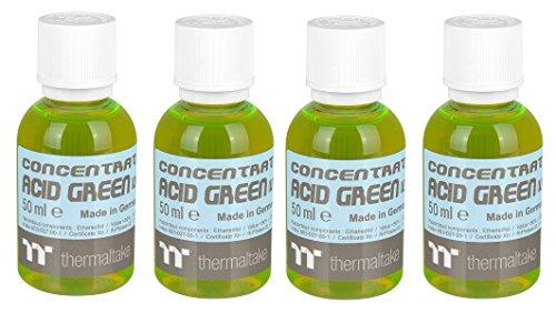 Thermaltake TT Premium Farbkonzentrat (für Wasserkühlflüssigkeiten, 4 x 50ml) neon grün