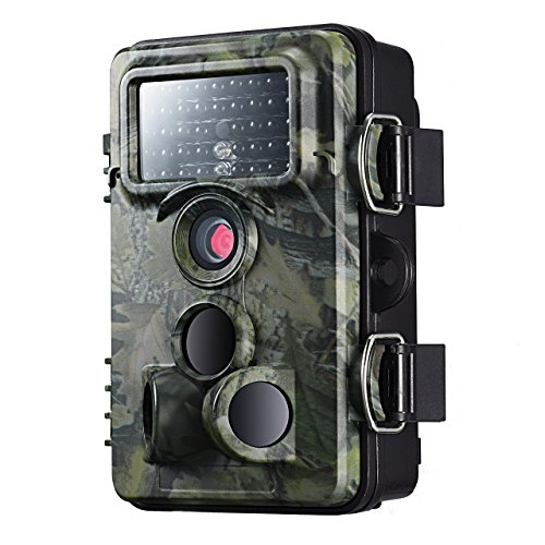 Überwachungskamera VicTsing, Wildkamera, IP66, wasserdicht 12MP 1080P HD, Infrarot-Kamera für die Nacht, Sicherheit zu Hause, Überwachung der Tierwelt, etc.