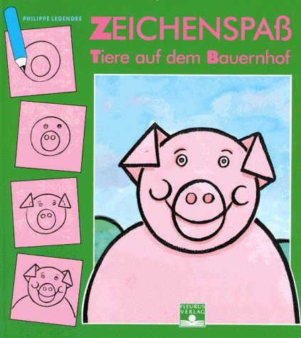 4 j apprends a dessiner animaux ferme allemand
