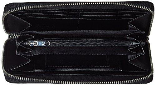 Armani Jeans 928532cc855, Portafoglio Donna, 2x10x19 cm Nero (NERO 00020)