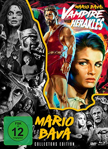 Vampire gegen Herakles - Mario Bava-Collection #6 (+ DVD + Bonus-DVD) [Blu-ray]