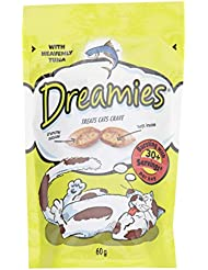 Dreamies Treats Cats Crave with Heavenly Tuna, 60 g