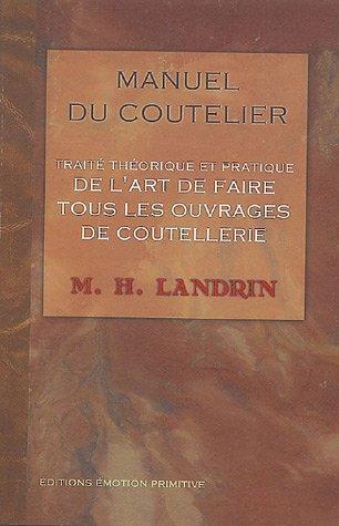 Manuel du coutelier : Ou Traité théori...