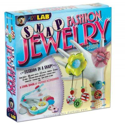 (Snap Fashion Jewelry Studio [With Snap Maker, Fabric Circles, 5 Bases, Snap Domes and 2 Rings, Jewels and Glue and Paperback Bo) By Free, Jenna Land (Author) other on (07 , 2010) Snap Dome