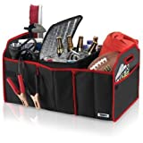 #4: Shree-Hari Car Boot Organiser For Picnic Party Shopping Heavy Duty Collapsible Foldable