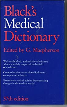 Book Black's Medical Dictionary