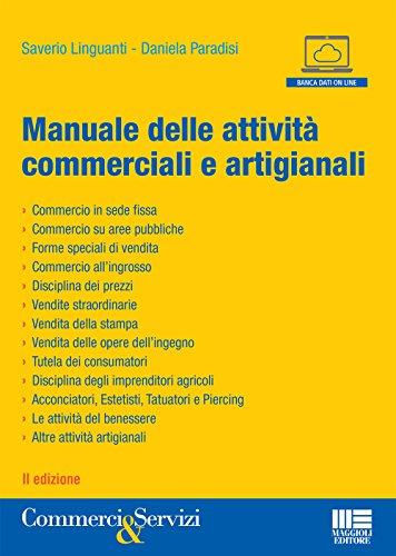Manuale delle attività commerciali e artigianali usato  Spedito ovunque in Italia