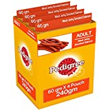 Pedigree Meat Jerky Stix Dog Treats, Smoked Salmon, 60 G (Pack Of 4)