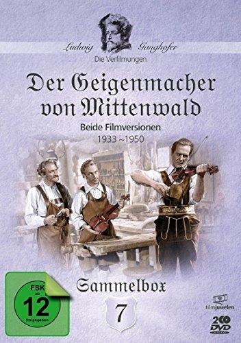 Der Geigenmacher von Mittenwald - Die Ganghofer Verfilmungen (Filmjuwelen) [2 DVDs]