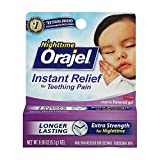 ORAJEL INSTANT RELIEF NIGHTTIME TEETHING...