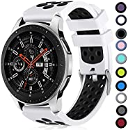 Lerobo Compatible for Samsung Galaxy Watch 3 45mm Band/Galaxy Watch 46mm Bands/Gear S3 Frontier, Classic Watch