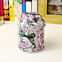 Flower Pastoral Style Mini Tea & Coffee Tin
