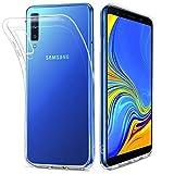 HOOMIL Durchsichtige Handyhülle für Samsung Galaxy A7 2018 Hülle, Silikon Transparent Schutzhülle für Samsung Galaxy A7 2018 Smartphone Case Cover, HD3486