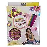 Soy Luna Soy Caja creación con 3 Pulsera y 18 Abalorios, Unica (Kids...