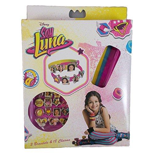"""SOY LUNA """" ldquo; Kreativ-Set mit 3Armbändern und 18Glasperlen (Kids Euroswan KD-WDSL006), einzeln (Kids Euroswan WDSL006)"""