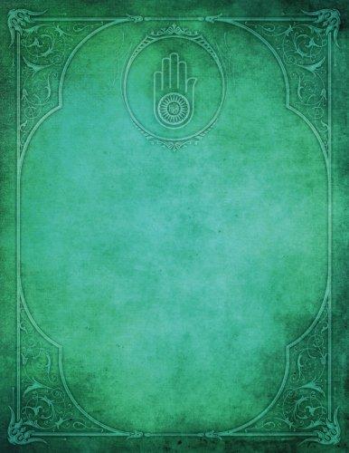 Monogram Jainism Blank Sketchbook: Art Sketch Pad Notebook: Volume 44 (Monogram Elegance 150 Sketch) por N.D. Author Services